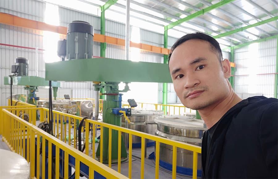 Dự toán sản xuất sơn nước, chuyển giao công nghệ sơn