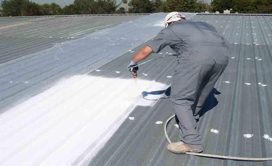 Chống nóng mái tôn bằng sơn SKYCOLOR S86