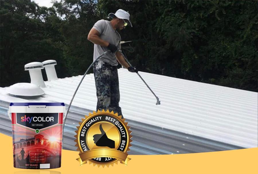 Có nên sơn chống nóng mái tôn